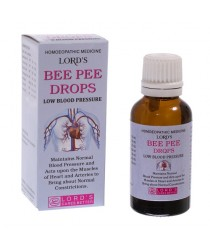 BEE PEE DROPS (LOW BLOOD PRESSURE)